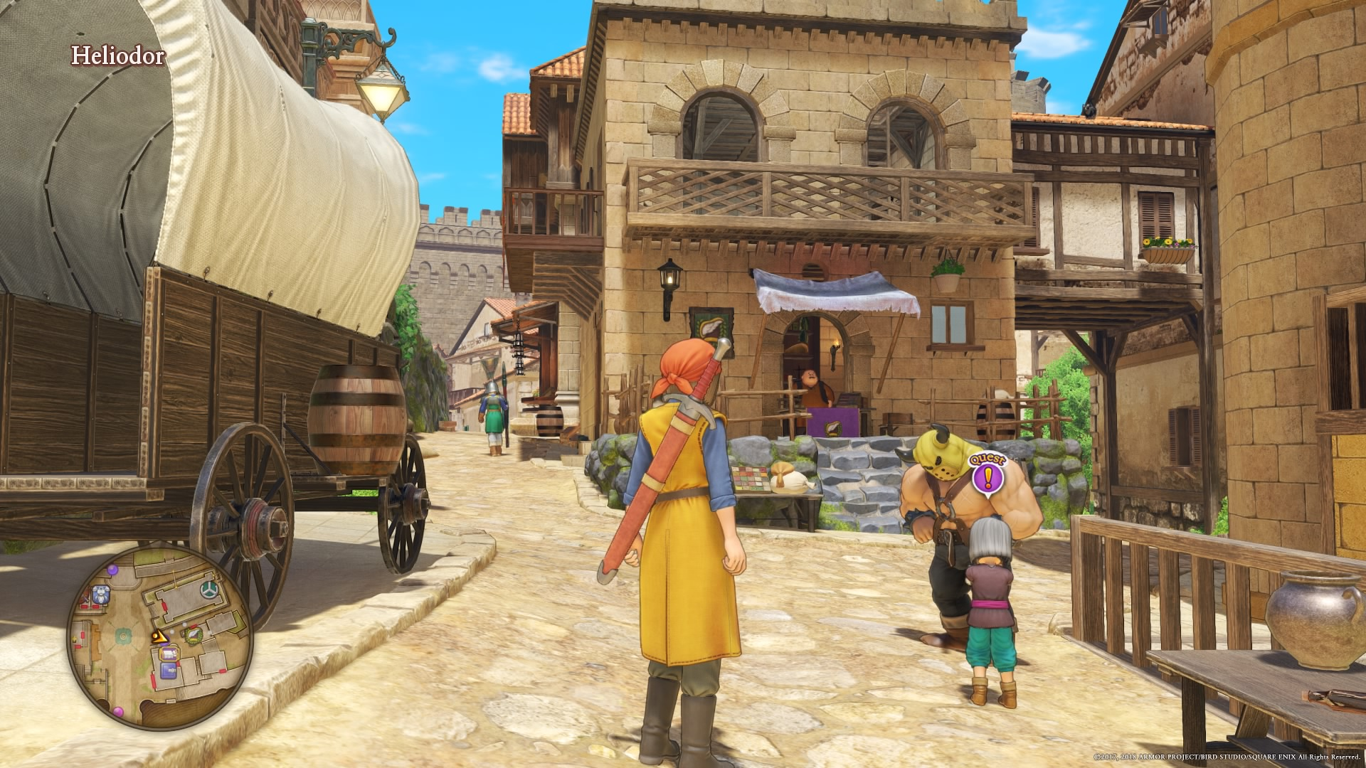 Dragon Quest Xi Amelia S In A Pickle Nightlygamingbinge