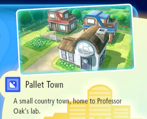 Tow N Go >> Pokemon Let S Go Pallet Town Route 1 Guide