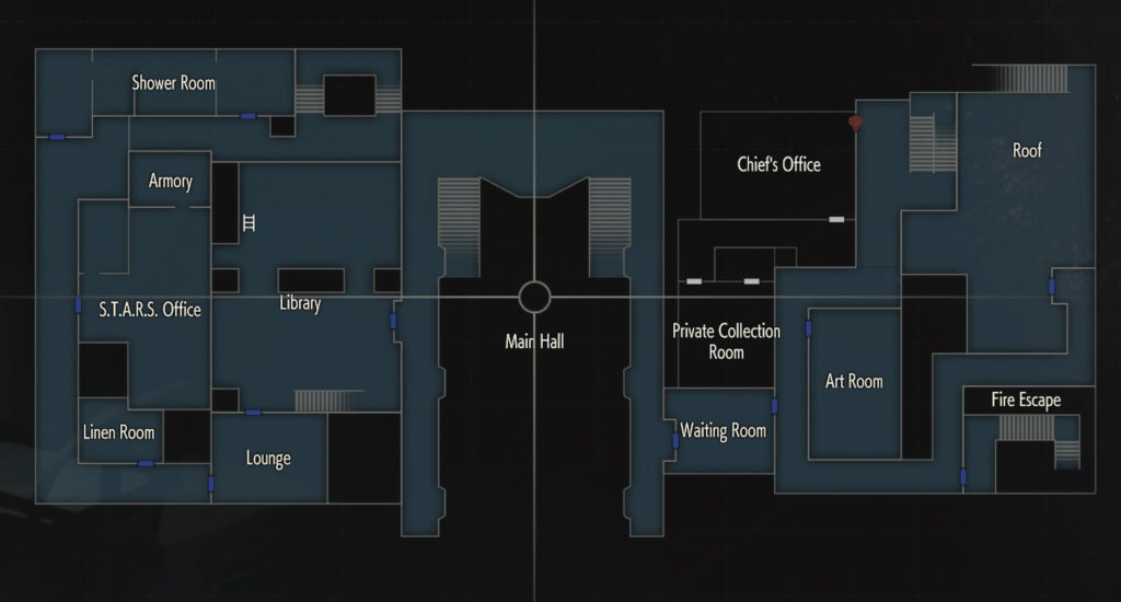 Resident Evil 2 Remake - Leon A Item Locations - NightlyGamingBinge
