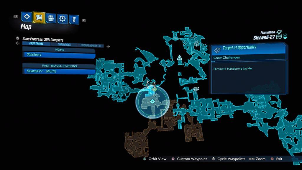 Borderlands 3 Target Of Opportunity Crew Challenge