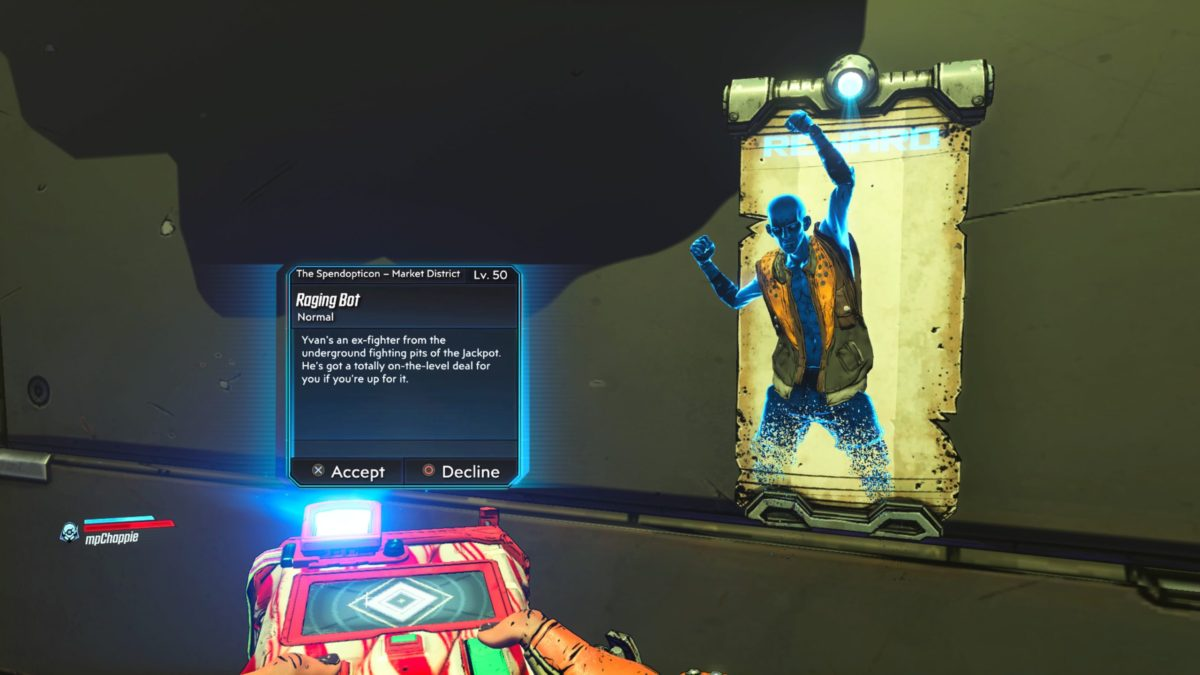 Borderlands 3 Raging Bot Nightlygamingbinge