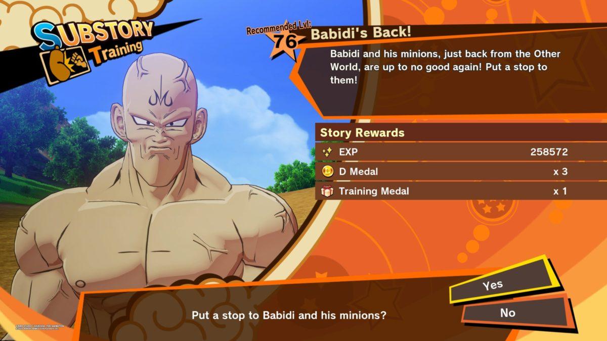 Dragon Ball Z Kakarot Babidi S Back Nightlygamingbinge