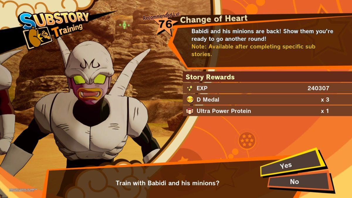 Dragon Ball Z Kakarot Change Of Heart Nightlygamingbinge